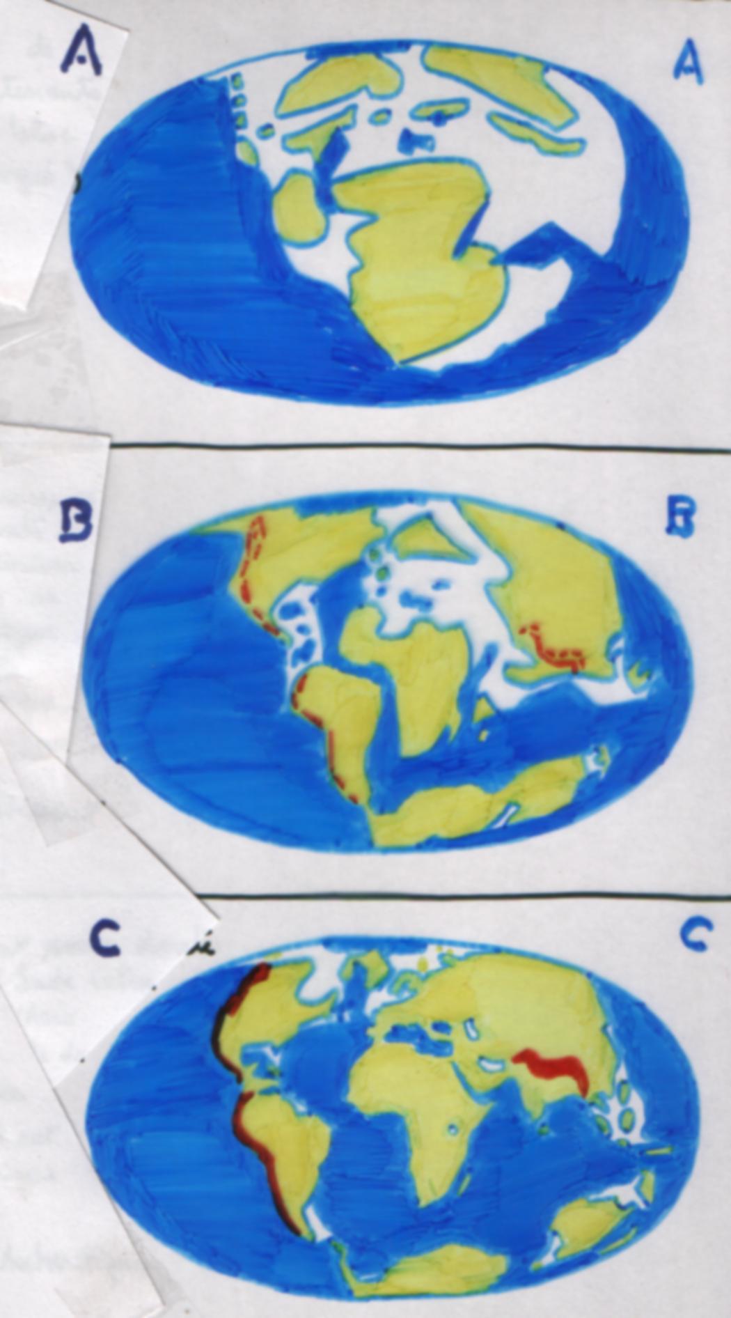 limites des continents